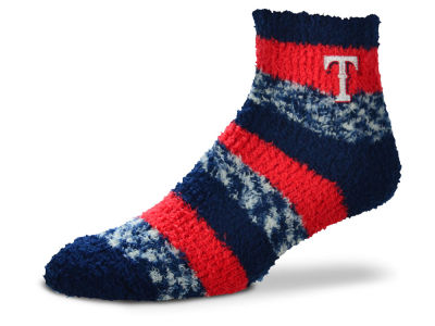 Texas Rangers Sleep Soft Pro Stripe Socks