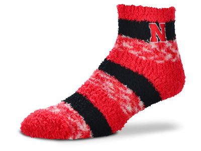 Nebraska Cornhuskers For Bare Feet Sleep Soft Pro Stripe Socks