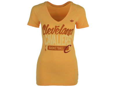 Cleveland Cavaliers adidas NBA Womens Mesh Outline 2 T-Shirt