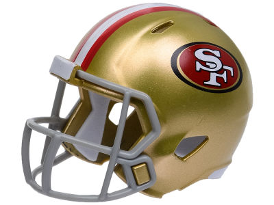 San Francisco 49ers Speed Pocket Pro Helmet