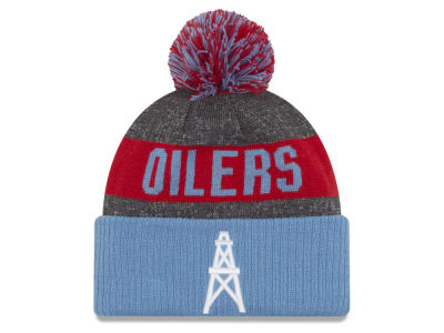 Houston Oilers New Era NFL Classic Sport Knit