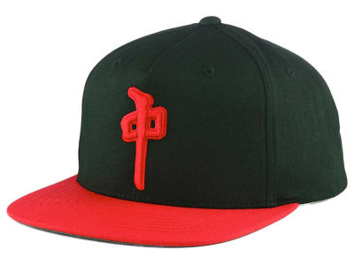 Red Dragon Skate Contour Snapback Hat
