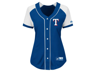 Texas Rangers MLB Women's Fashion Replica Jersey 2016