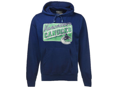 Vancouver Canucks NHL Men's Sticker Hooded Sweatshirt