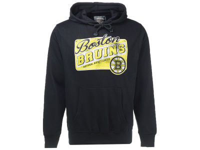 Boston Bruins NHL Men's Sticker Hooded Sweatshirt