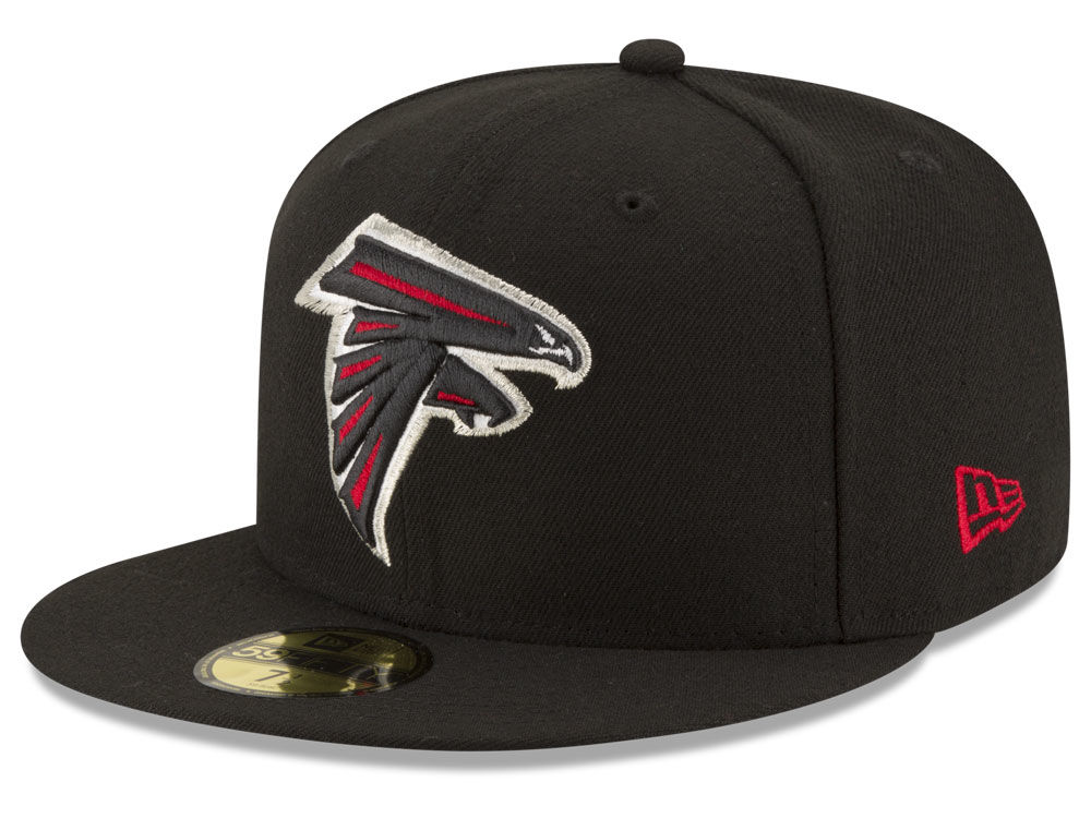 Atlanta Falcons New Era NFL Team Basic 59FIFTY Cap 9eaf4d833c68
