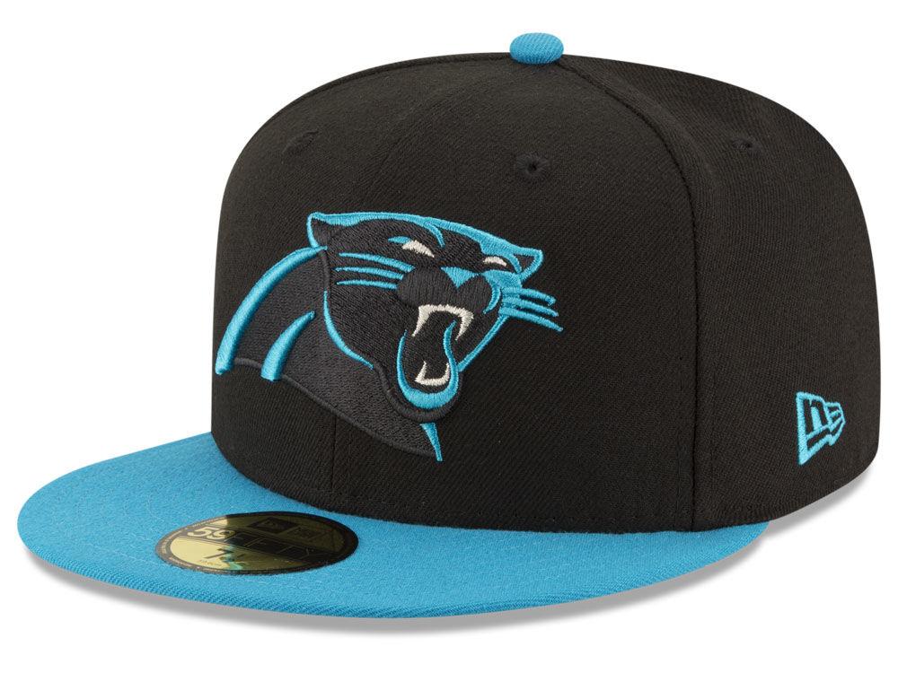 58c0b6c2508 Carolina Panthers New Era NFL Team Basic 59FIFTY Cap