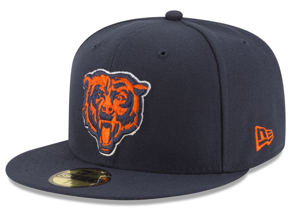 Chicago Bears New Era NFL Team Basic 59FIFTY Cap 8b073dee8