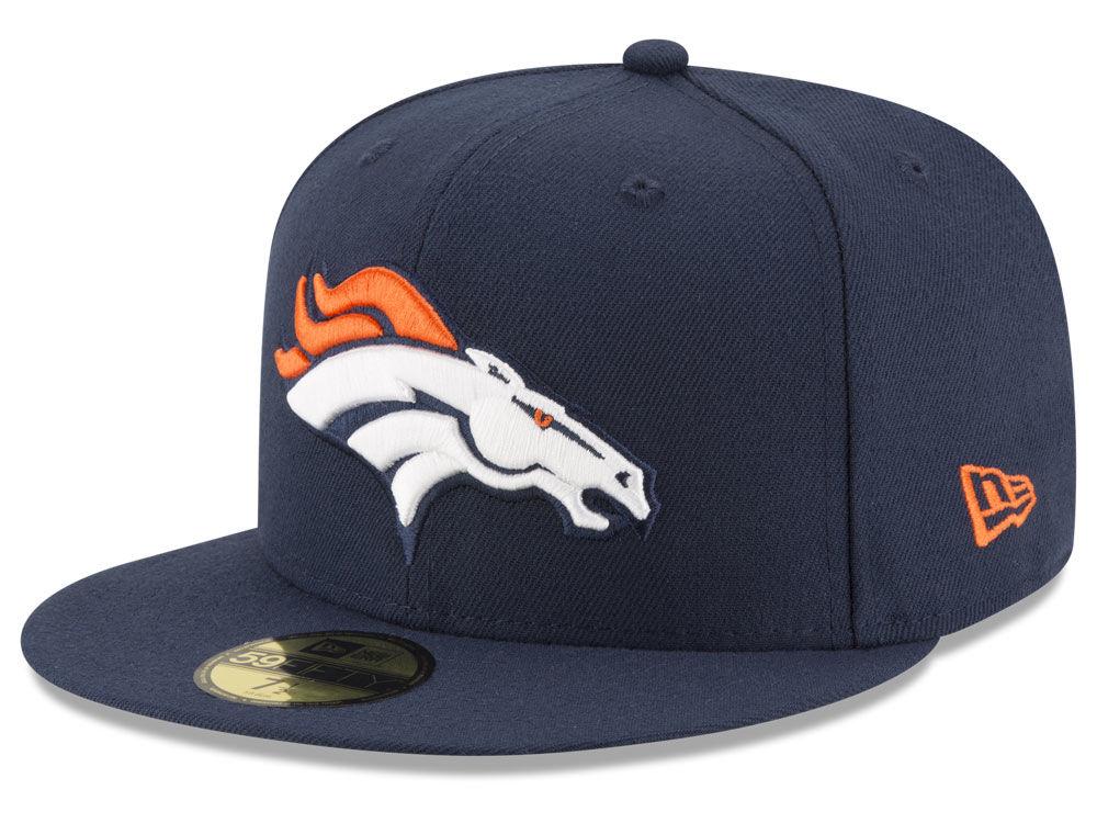Denver Broncos New Era NFL Team Basic 59FIFTY Cap  a5b7390626b