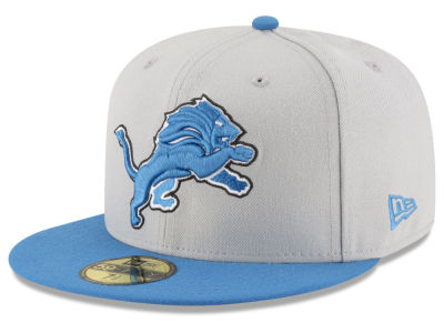 Detroit Lions New Era NFL Team Basic 59FIFTY Cap