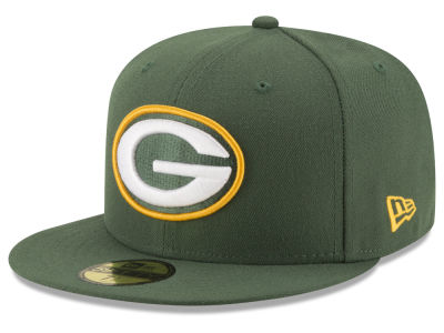 Green Bay Packers New Era NFL Team Basic 59FIFTY Cap