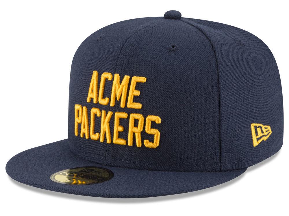 da26de87313 Green Bay Packers New Era NFL Team Basic 59FIFTY Cap