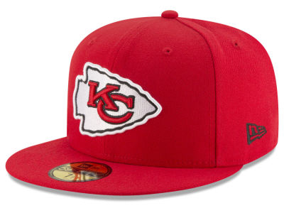 Kansas City Chiefs New Era NFL Team Basic 59FIFTY Cap