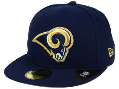 Los Angeles Rams New Era NFL Team Basic 59FIFTY Cap