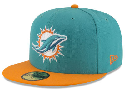 Miami Dolphins New Era NFL Team Basic 59FIFTY Cap