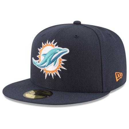 Miami Dolphins New Era NFL Team Basic 59FIFTY Cap