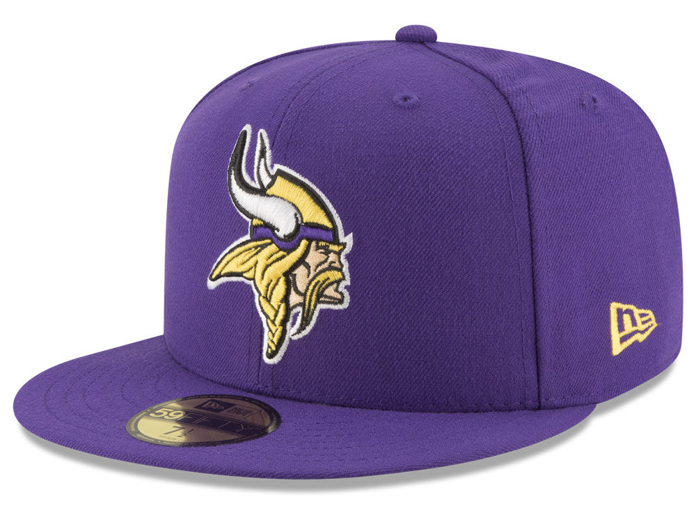 Minnesota Vikings New Era NFL Team Basic 59FIFTY Cap  5ebf99f9df2