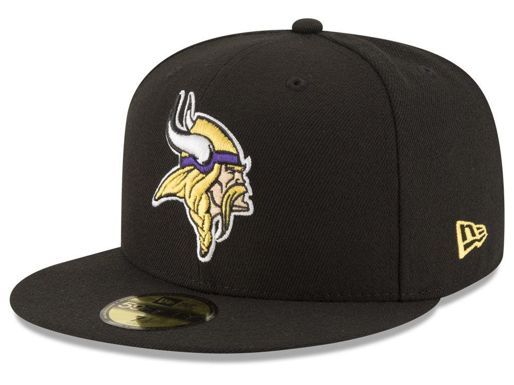 Minnesota Vikings New Era NFL Team Basic 59FIFTY Cap ab0aee390a4