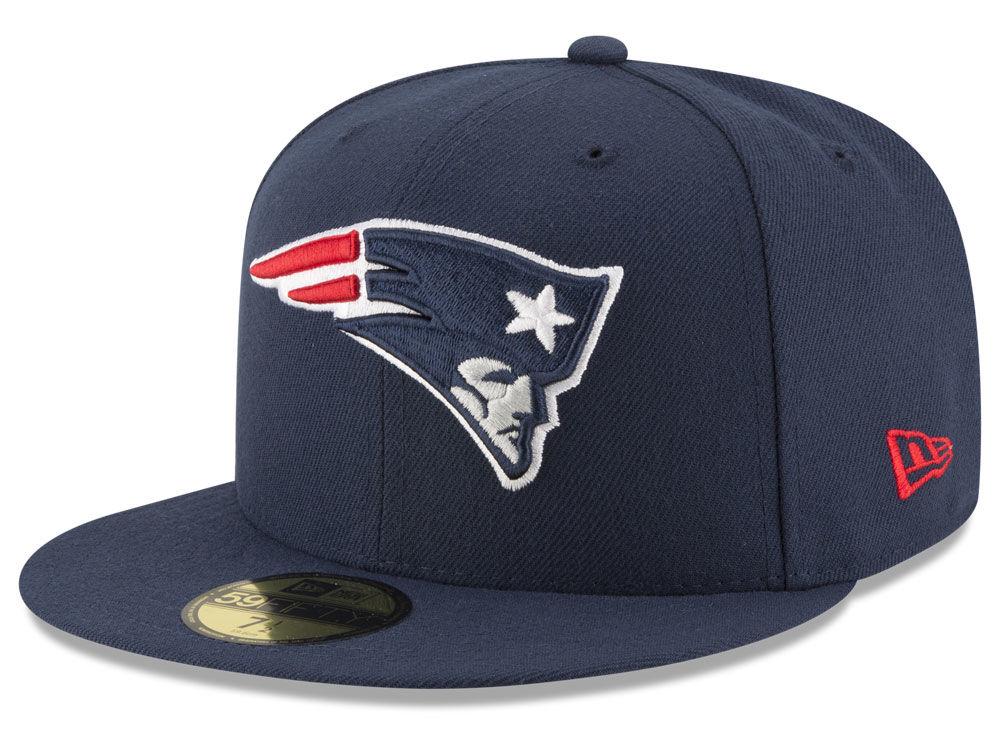 7b9c04dd98f New England Patriots New Era NFL Team Basic 59FIFTY Cap