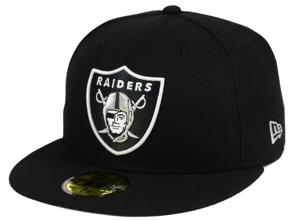 Oakland Raiders New Era NFL Team Basic 59FIFTY Cap fd612c73dcd