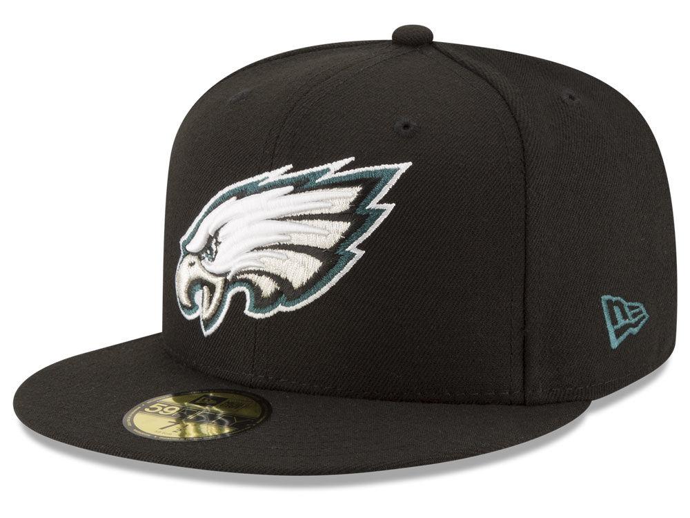 af573855e2b Philadelphia Eagles New Era NFL Team Basic 59FIFTY Cap