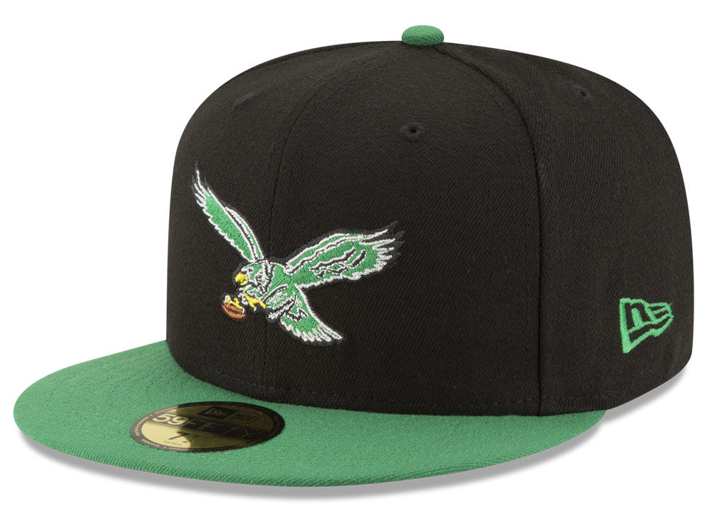 new style 78bda e6264 ... top quality philadelphia eagles new era nfl team basic 59fifty cap  4507d 8c600
