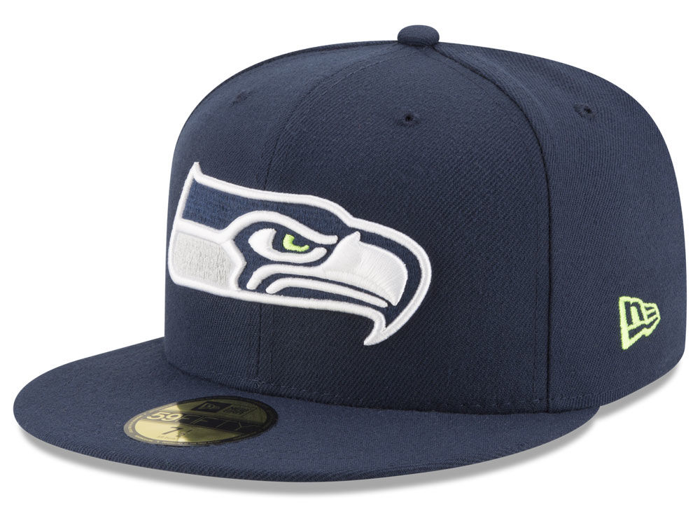 Seattle Seahawks New Era NFL Team Basic 59FIFTY Cap e68cc65f1d6