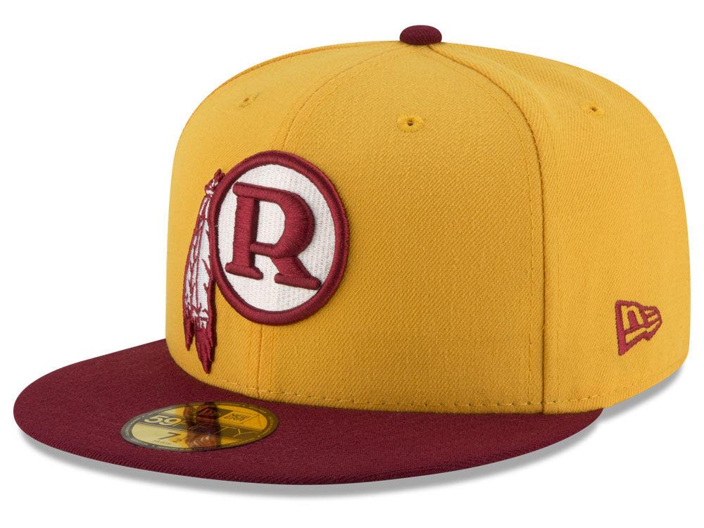 Washington Redskins New Era NFL Team Basic 59FIFTY Cap 41b7fff11fd