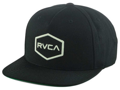 RVCA Commonwealth II Snapback Hat