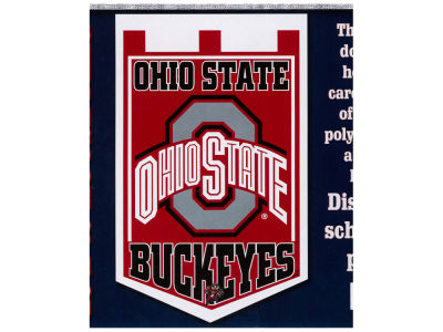 Ohio State Buckeyes 28x40 Double Sided Flag Banner