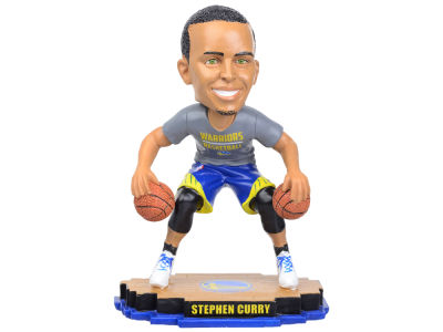 Golden State Warriors Steph Curry Warm Up Bobble