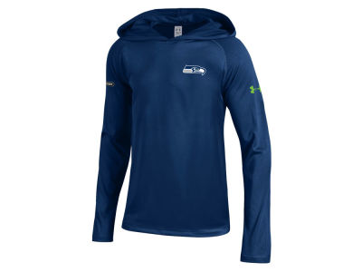 Seattle Seahawks Under Armour NFL Youth Combine Tech Hoodie