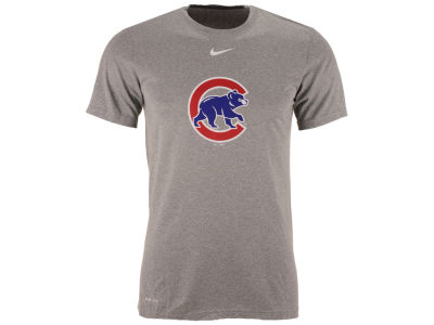 Chicago Cubs MLB Men's BP Logo Legend T-Shirt