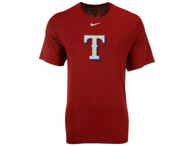 Texas Rangers MLB Men's BP Logo Legend T-Shirt