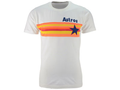 Houston Astros MLB Men's Brass Tacks Coop Logo T-Shirt