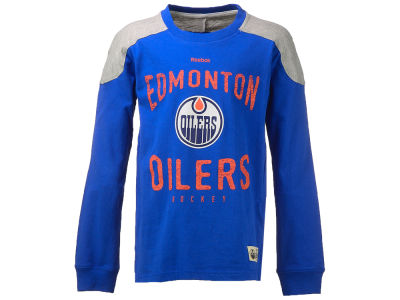 Edmonton Oilers NHL Youth Birthright Long Sleeve T-Shirt