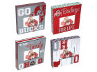 Ohio State Buckeyes 10 Square Frame Assorted Home Office & School Supplies