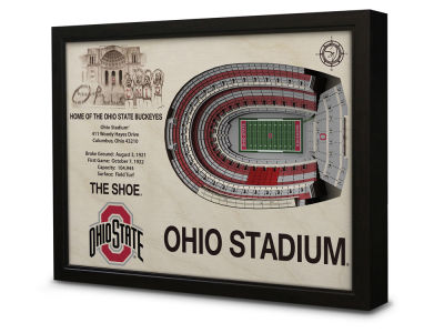 Ohio State Buckeyes Sportula Stadium View Wall Art