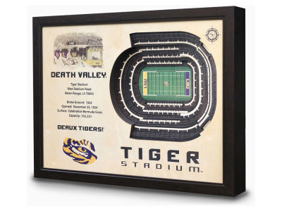 LSU Tigers Sportula Stadium View Wall Art