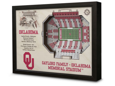 Oklahoma Sooners Stadium View Wall Art