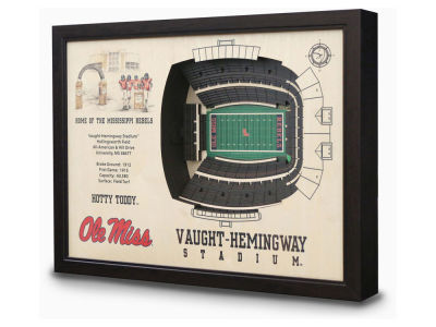 Ole Miss Rebels Stadium View Wall Art