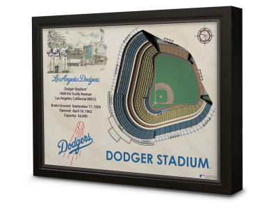 Los Angeles Dodgers Stadium View Wall Art
