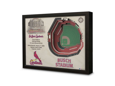 St. Louis Cardinals Stadium View Wall Art