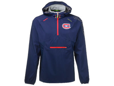 Montreal Canadiens Reebok NHL Men's CI Anorak Pullover Jacket