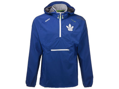 Toronto Maple Leafs Reebok NHL Men's CI Anorak Pullover Jacket