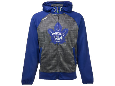 Toronto Maple Leafs Reebok NHL Men's Center Ice TNT Full Zip Hoodie
