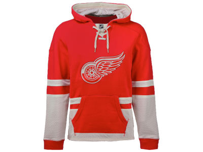 Detroit Red Wings NHL Men's CCM Pullover Hoodie