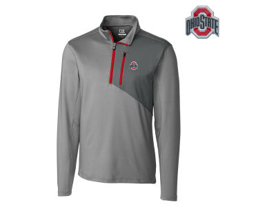 Ohio State Buckeyes NCAA Men's Shoreline Chromaflex Half Zip Pullover