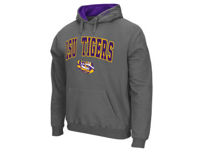 LSU Tigers Colosseum NCAA Men's Arch Logo Hoodie