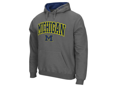 Michigan Wolverines NCAA Men's Arch Logo Hoodie